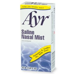 Ayr Saline Nasal Mist REVIEW | Decongesting Deviated Septum